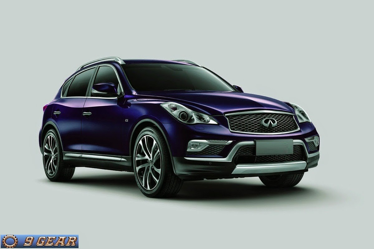 2016 infiniti qx50 to debut in new york car reviews new car pictures for 2018 2019. Black Bedroom Furniture Sets. Home Design Ideas