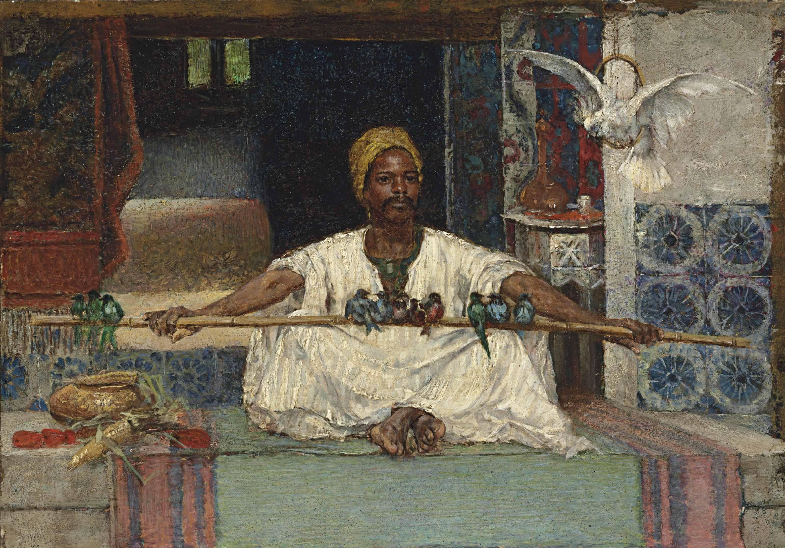 Rudolf Ernst The  ird seller