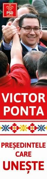 Victor PONTA- Presedintele care Uneste!