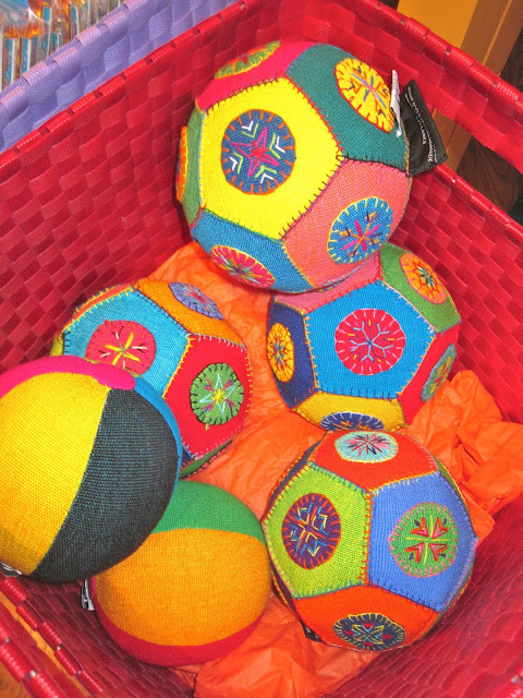 colorful balls made in Sri Lanka