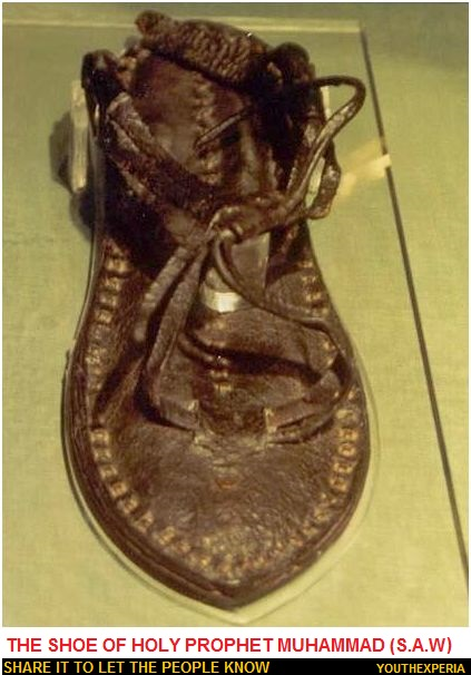 Shoe of Prophet Muhammad S.A.W