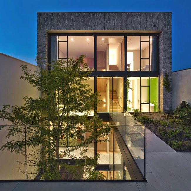 Casas minimalistas y modernas casa en amsterdam de diseno for Diseno casa minimalista