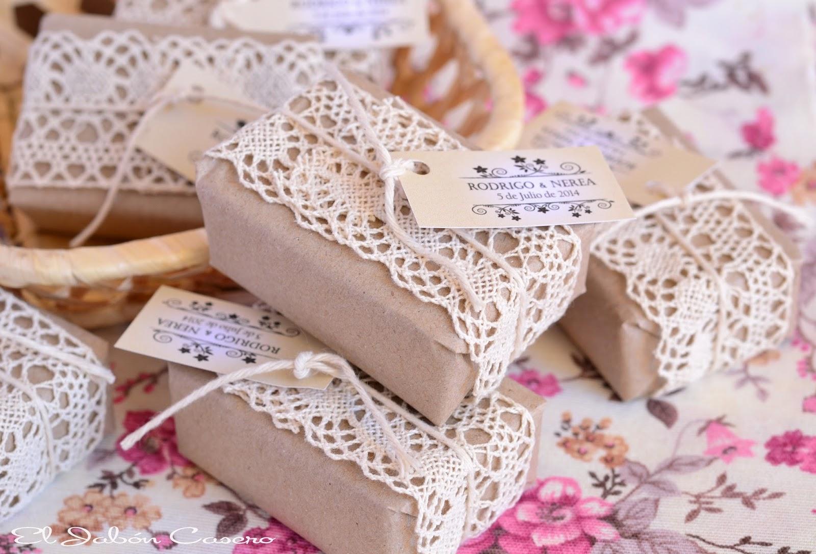 Detalles de boda jabones naturales artesanales