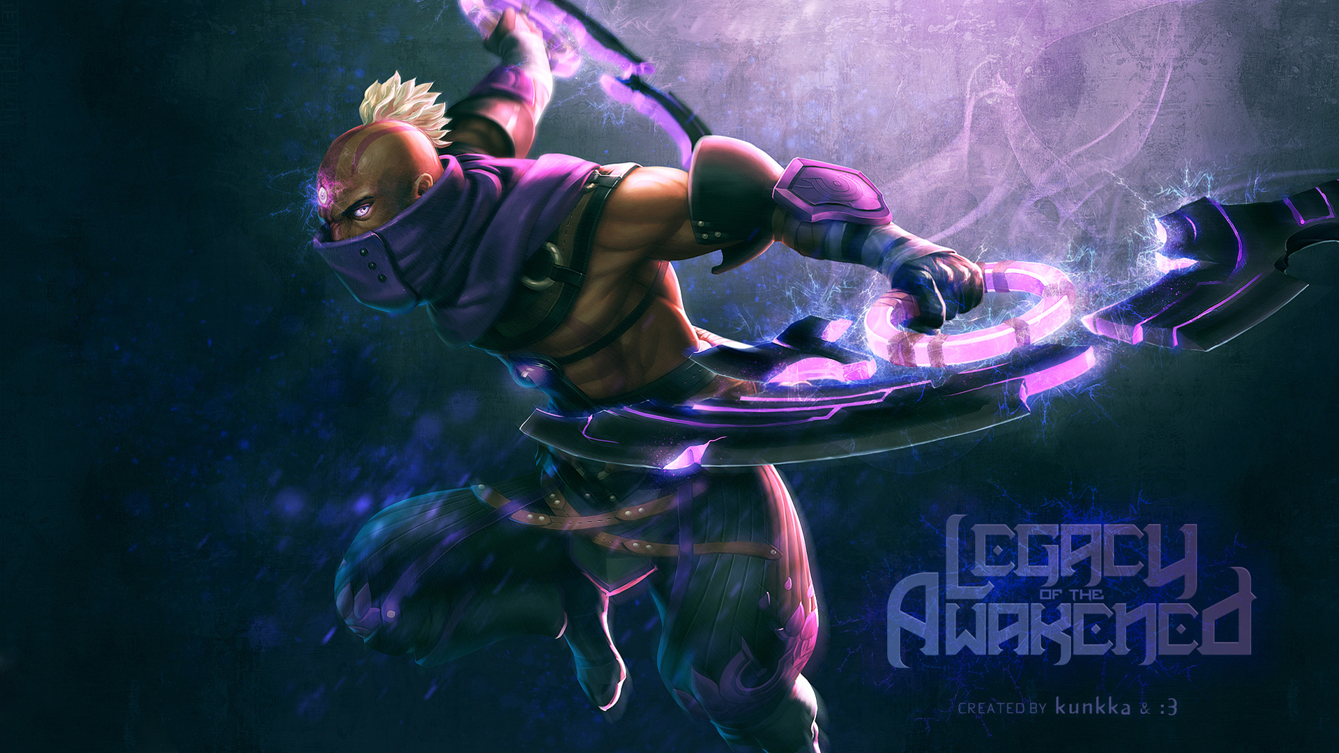 Dota 2 Anti Mage 3i Wallpaper HD