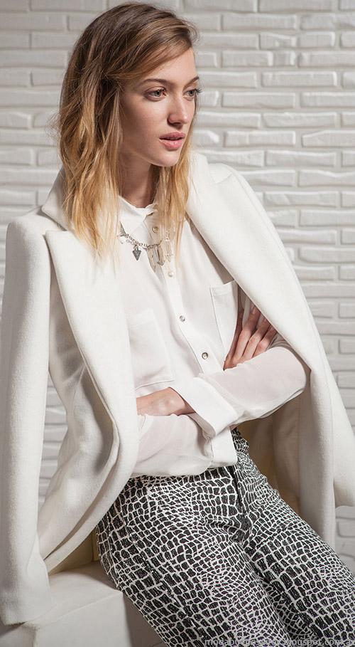 Sacos moda invierno 2015 Square Mujer ropa casual chic.