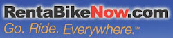 Reserve your rental bike online!
