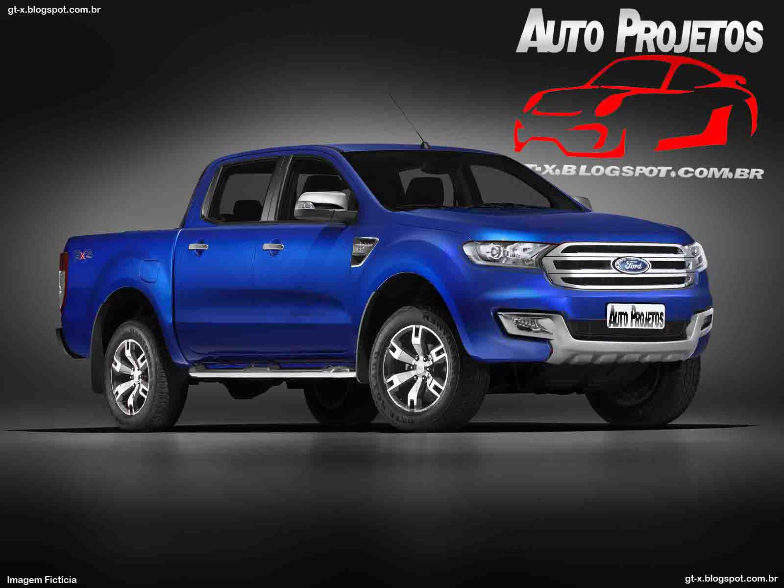 auto projetos ford ranger 2015. Black Bedroom Furniture Sets. Home Design Ideas