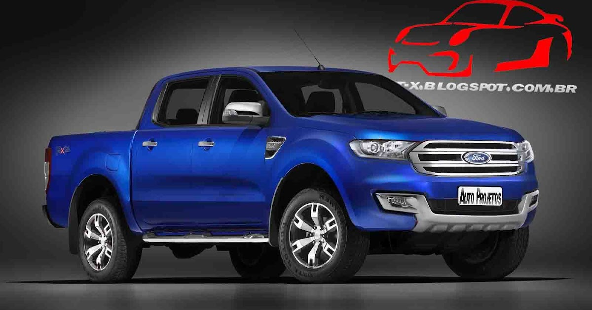 Auto Projetos: Ford Ranger 2015