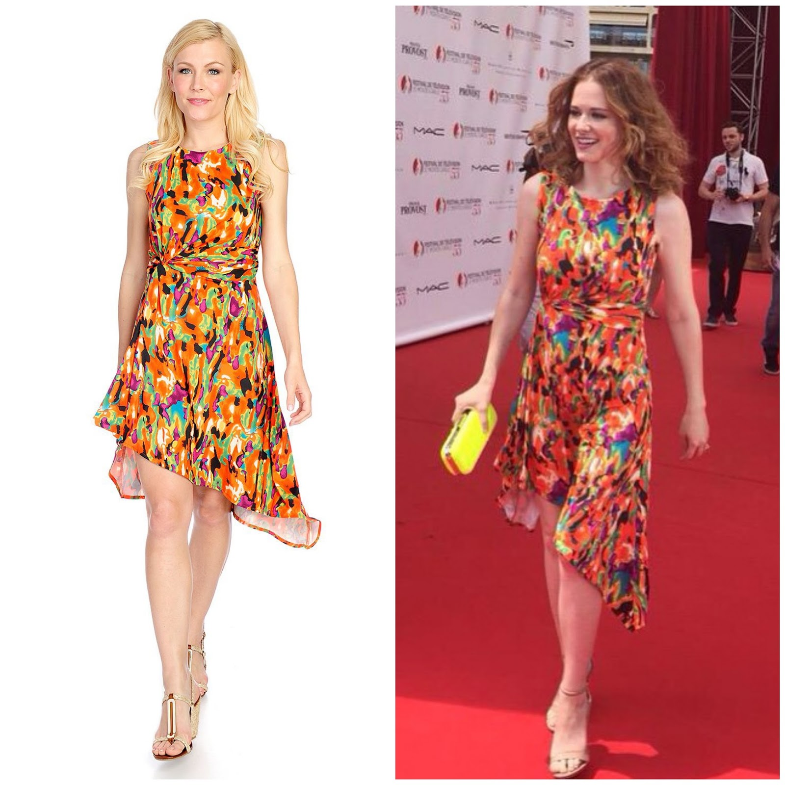 WHO WORE WHAT?.....Actress Sarah Drew of ABC\'s \