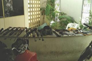 Oito pessoas são presas envolvidas com crimes de pistolagem