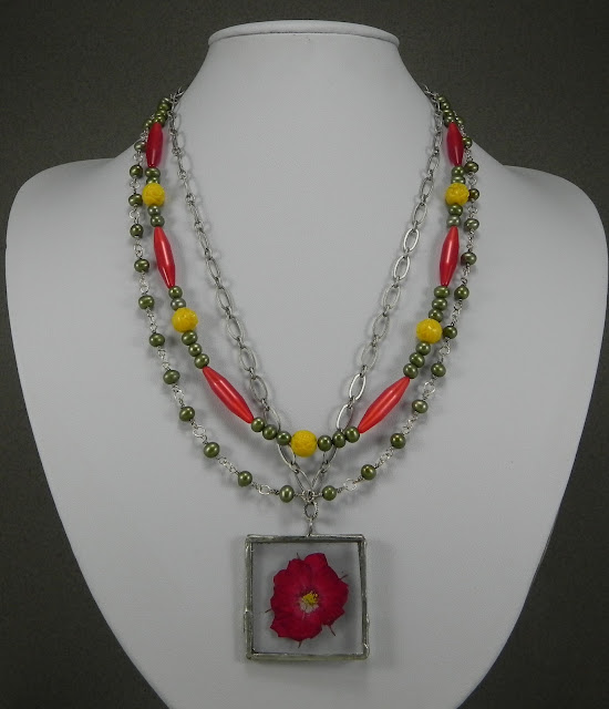 Bead Soup Blog Party Reveal – Spring 2012 - Necklace