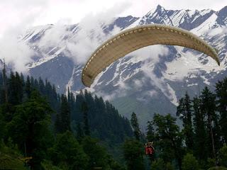 Para Gliding In Manali