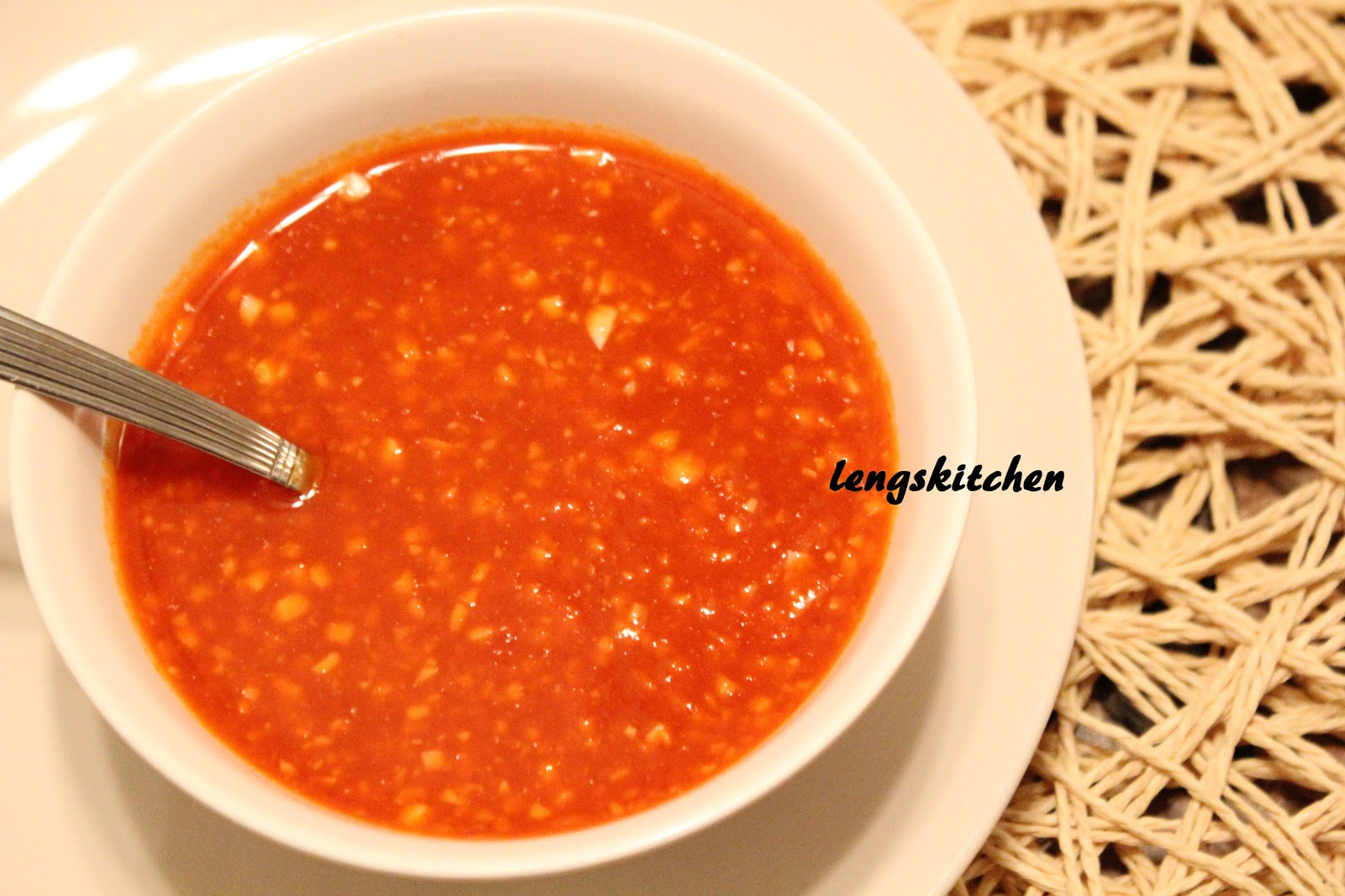 Ginger And Garlic Chili Sauce