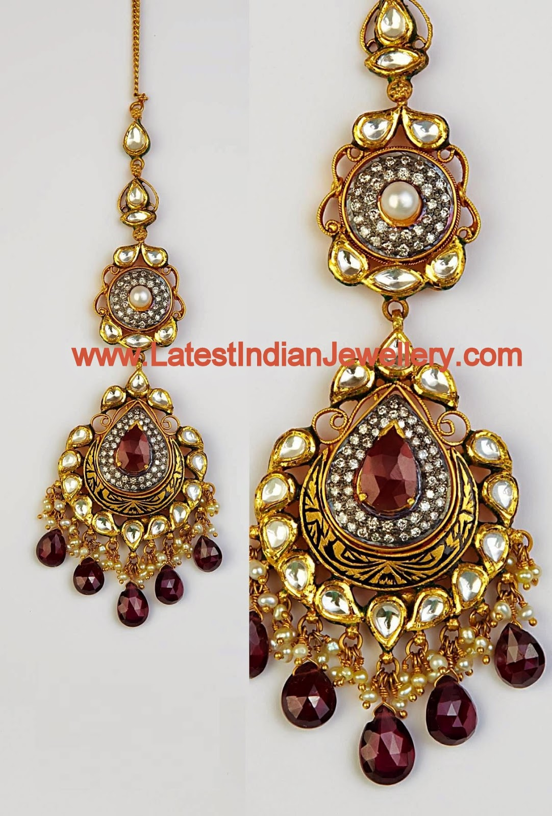 Kundan Netti Chutty Design