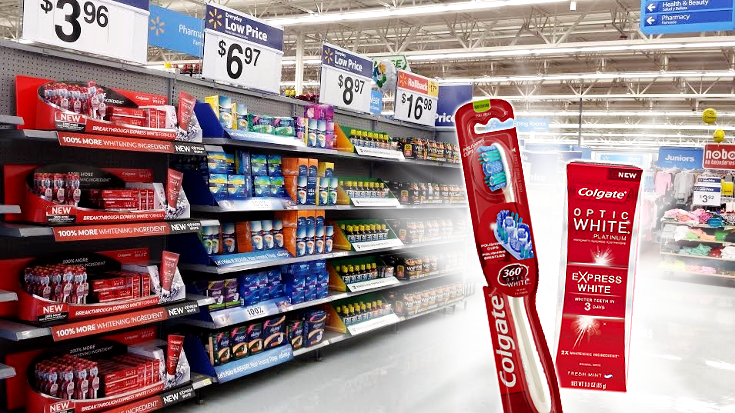 Colgate® Optic White® Express White toothpaste is now availible at Walmart. See whiter teeth in as few as 3 days thanks to the new formula with Hydrogen Peroxide. Achieve whiter teeth with no added effort for your easiest white! #OpticSmiles #ad