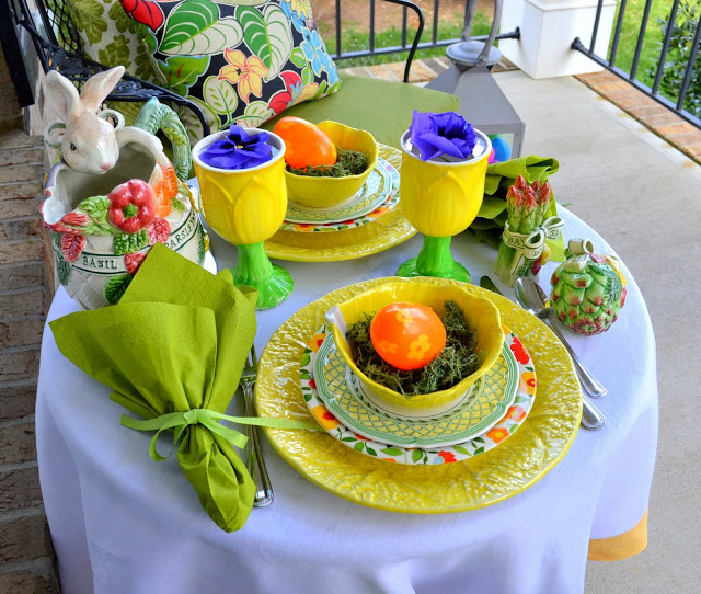 Celebrating Spring Tablescape