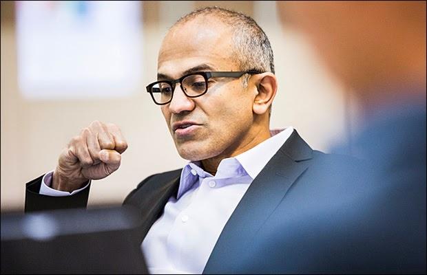 Microsoft ဦးေဆာင္သူအျဖစ္ အိႏၵိယသား Satya Nadella ကို ခန္႔အပ္၊ အိႏၵိယသားတို႔ ၀မ္းေျမာက္ ဂုဏ္ယူ