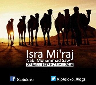 Isra Mi'raj Jumat 06/Mei/2016