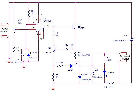 how to make solar mobile charger circuit diagram