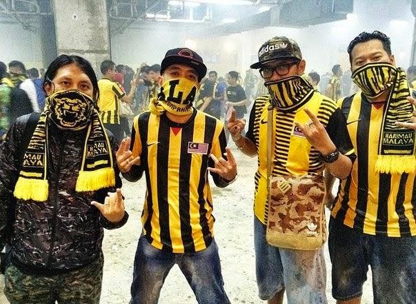 Selebriti Tonton Separuh Akhir Malaysia vs Vietnam, info, terkini, hiburan, sukan, sensasi, nelydia senrose, qi razali,