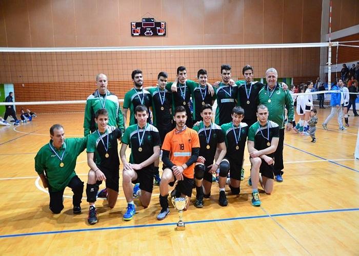 Πρωταθλήτρια Ελλάδος Ομάδα Βόλλεϋ Εφήβων 2014 - 2015