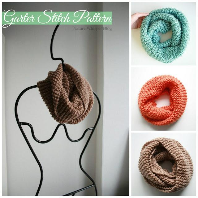Knitting Patterns For Beginners Garter Stitch : DIY: Easy FREE Knitting Pattern For Beginners - Nature Whisper