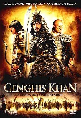 Filme Poster Genghis Khan - A Lenda de um Conquistador DVDRip XviD Dual Áudio & RMVB Dublado