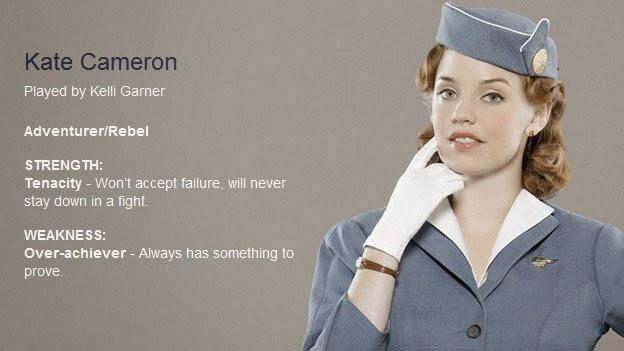 Pan Am TV Cast: Kelli Garner