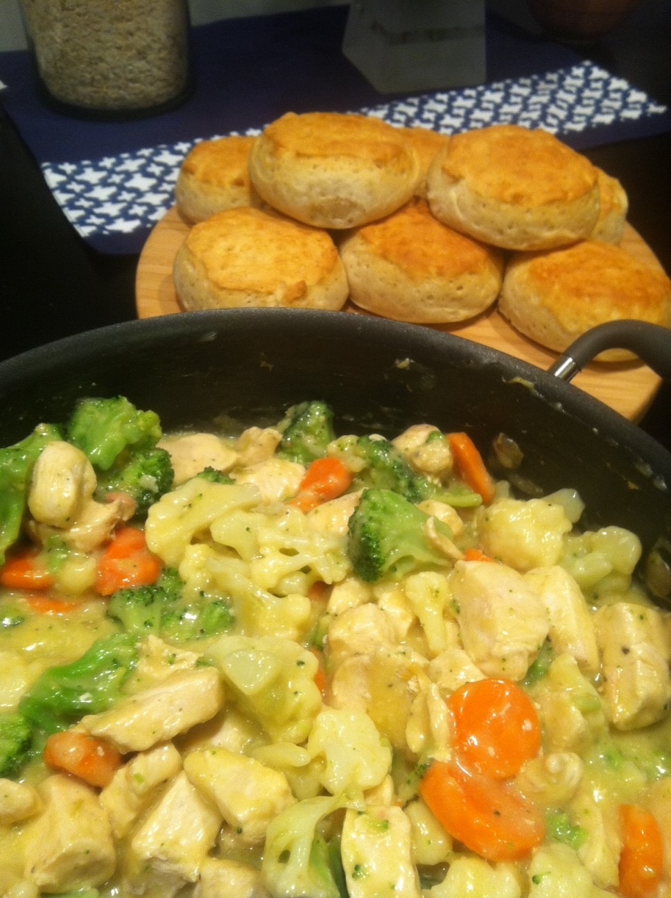 Food Makes My World Go Round: Inside Out Chicken Pot Pie
