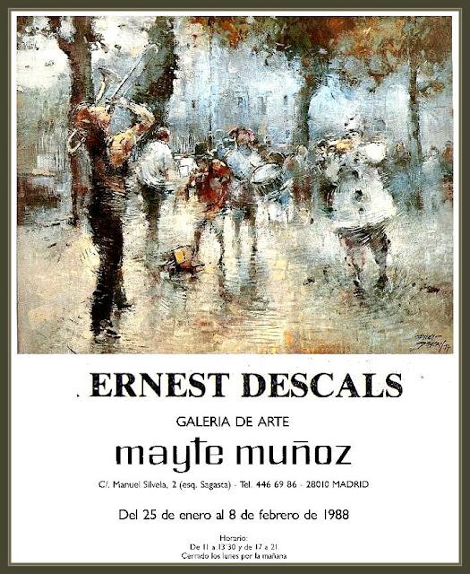 MADRID-PINTURA-EXPOSICIONES-PINTOR-ERNEST DESCALS