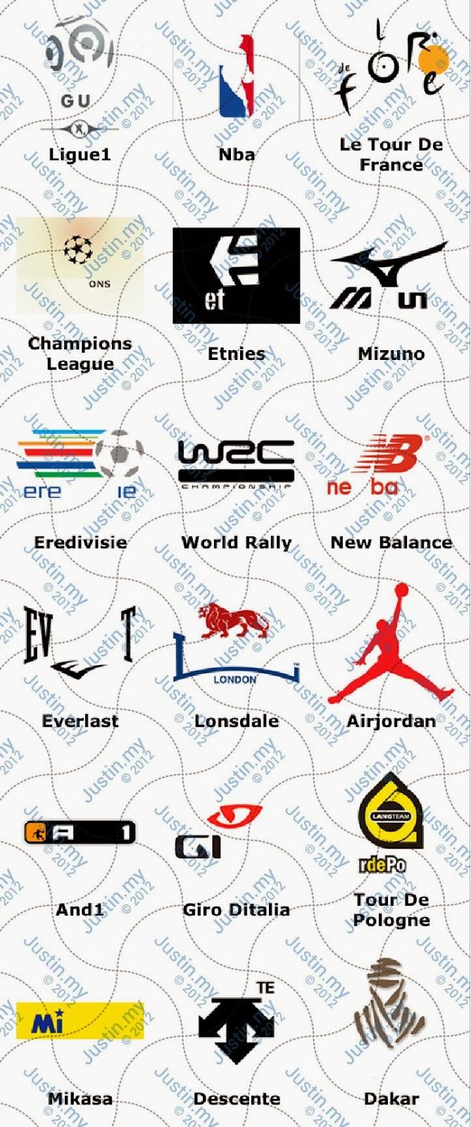 Sport - Ultimate Logo Quiz Answers