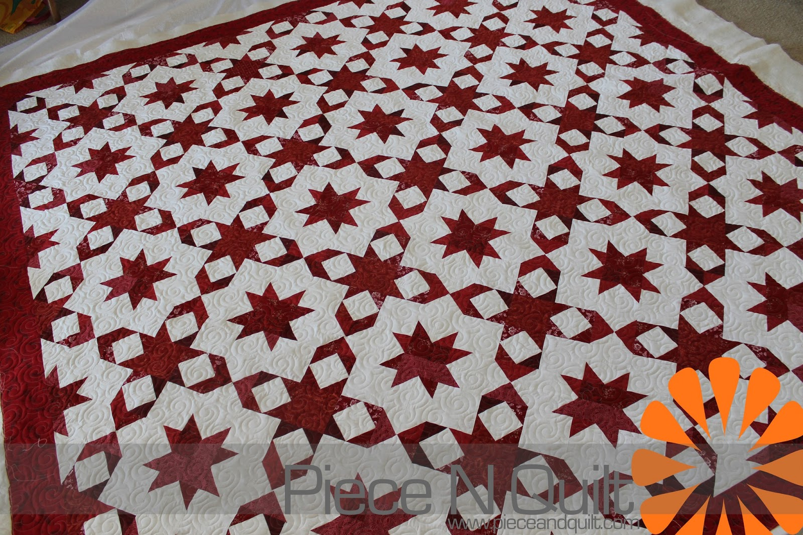 Piece N Quilt: Wrapped in Red ~ A Red and White Quilt : red quilts - Adamdwight.com