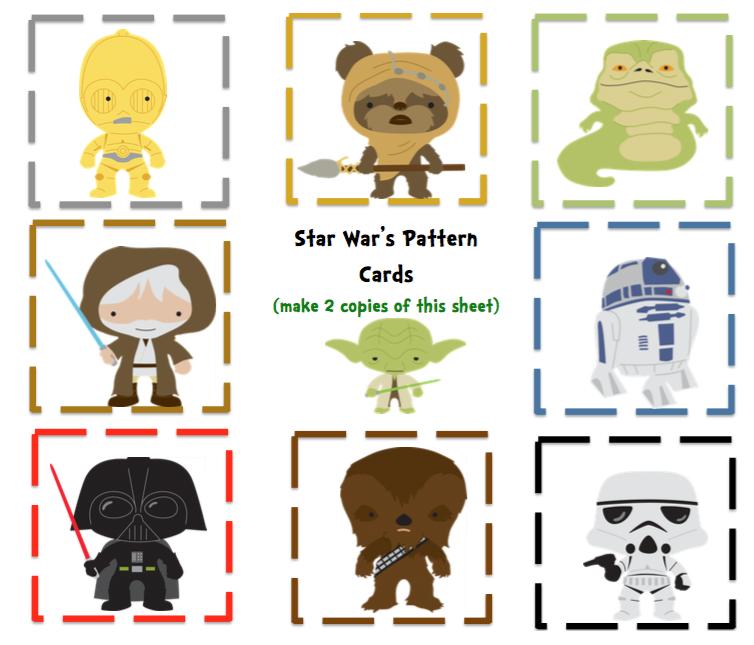 Preschool Packet Toddler Star War's Theme ~ Preschool Printables