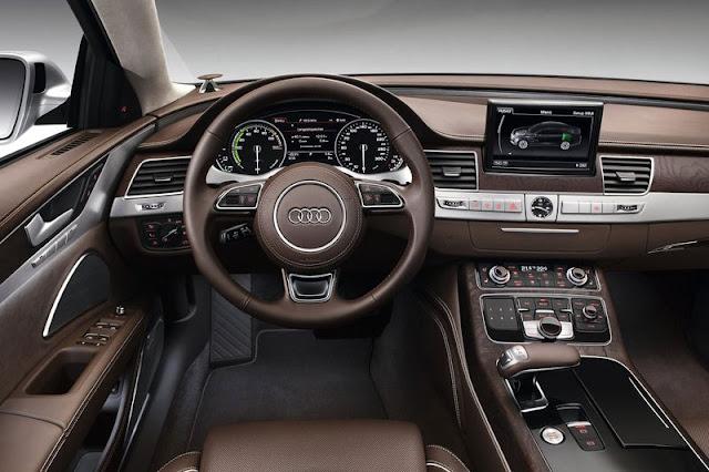 2013 Audi A8 Sedan Front Interior