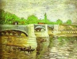 A ponte «Grande Jatte» sobre o Sena - 1887