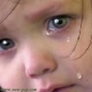 Image of a child crying