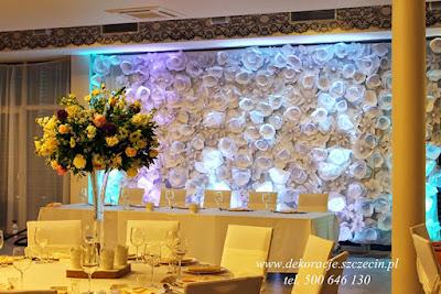 dekoracja ślubna Marena Spa Międzywodzie