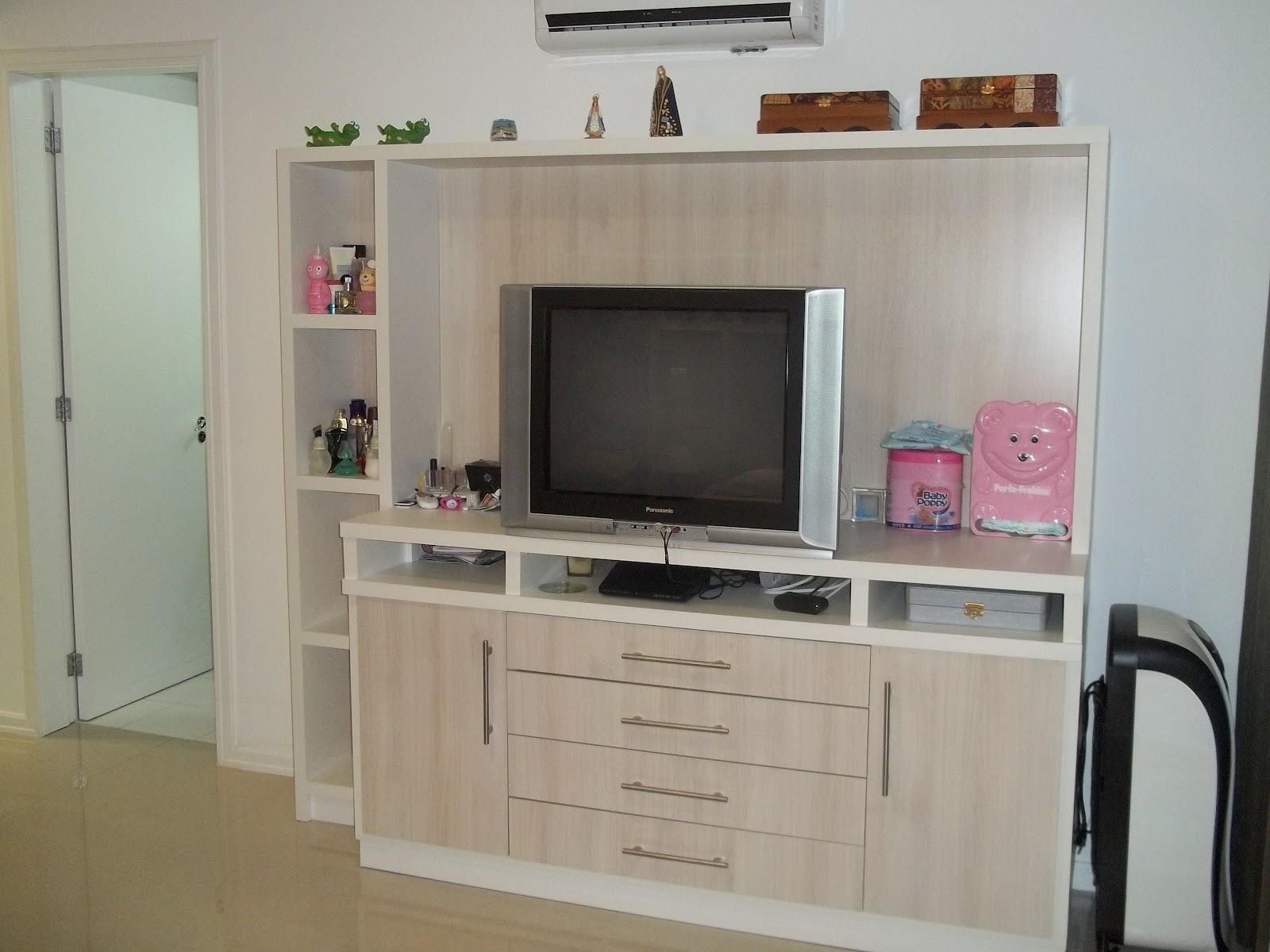 balcão/cômoda de quarto com espaço para tv #634333 1600x1200