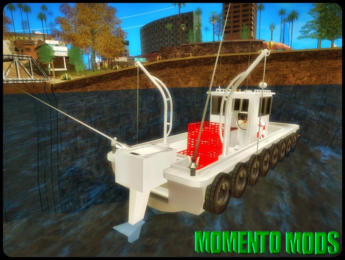 GTA SA - Barco De Pesca