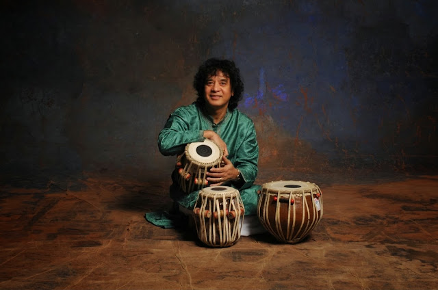 Ustad Zakir Hussain, the legendary tabla maestro