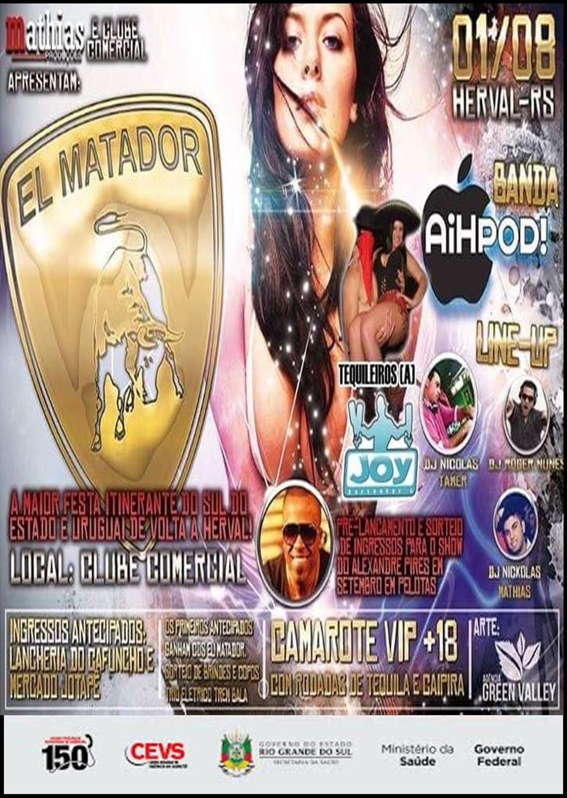 EL MATADOR EM HERVAL 01/08/15