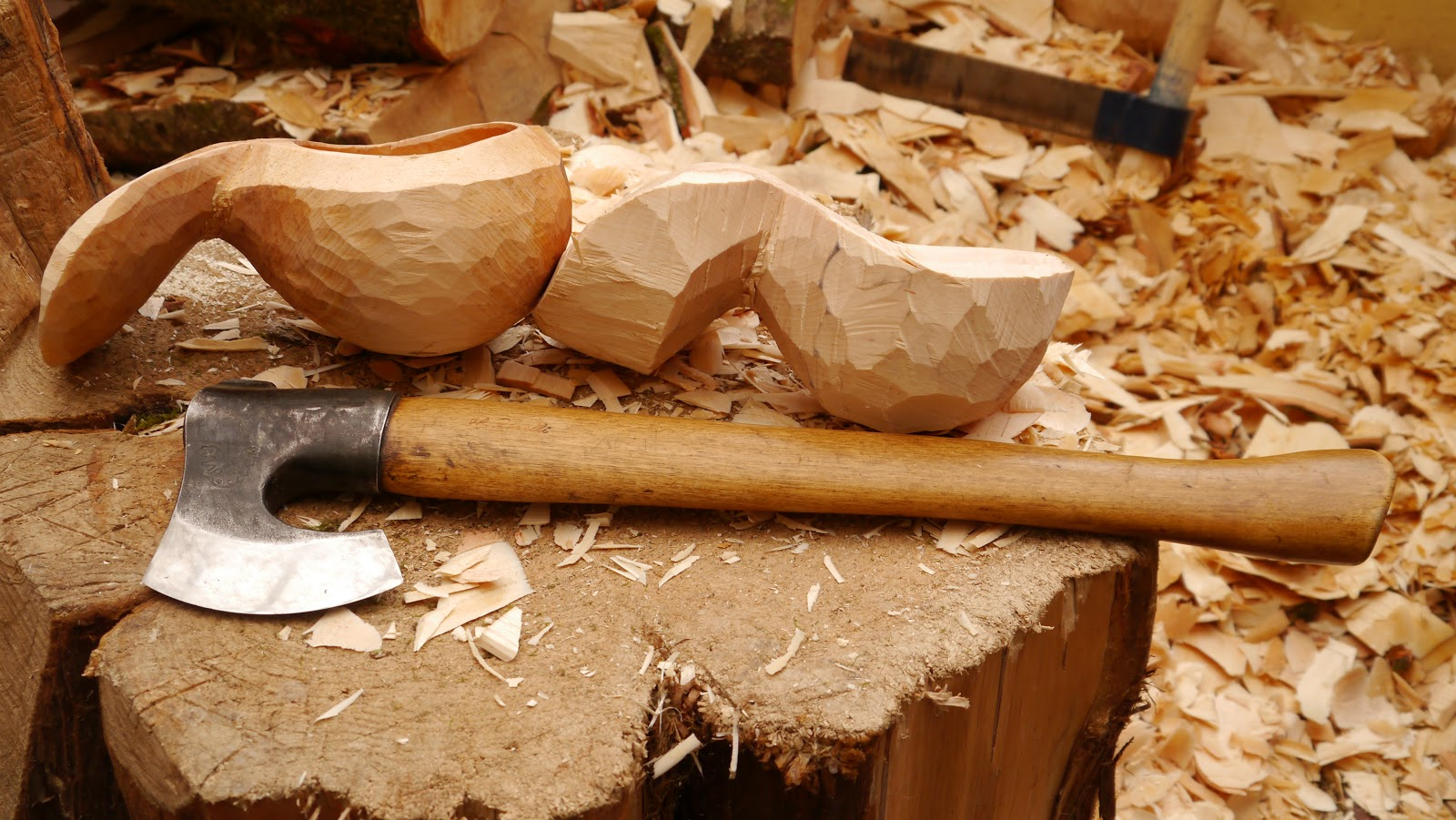 Spoon Carving First Steps Kuksa Carving