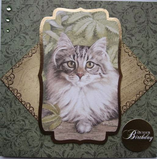 Kanban Cats and Quilts and Kandi Core paper craft collections - foiled & die cut toppers and versatile double sided card
