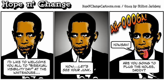 obama, obama jokes, obama cartoons, hope n' change, hope and change, stilton jarlsberg, conservative, tea party, bisexual visibility day, whitehouse, tours