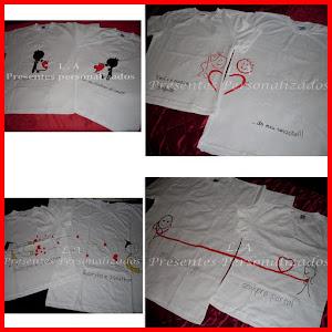 Camisetas que se completam