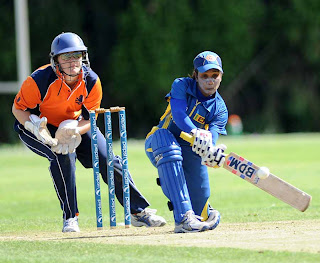 Sri Lanka Women beats Netherlands