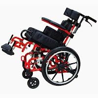 Kanga TS Tilt-in-Space Pediatric Wheelchair