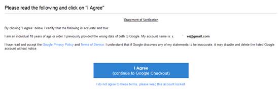 Bagaimana nak kembalikan akaun Google Disabled