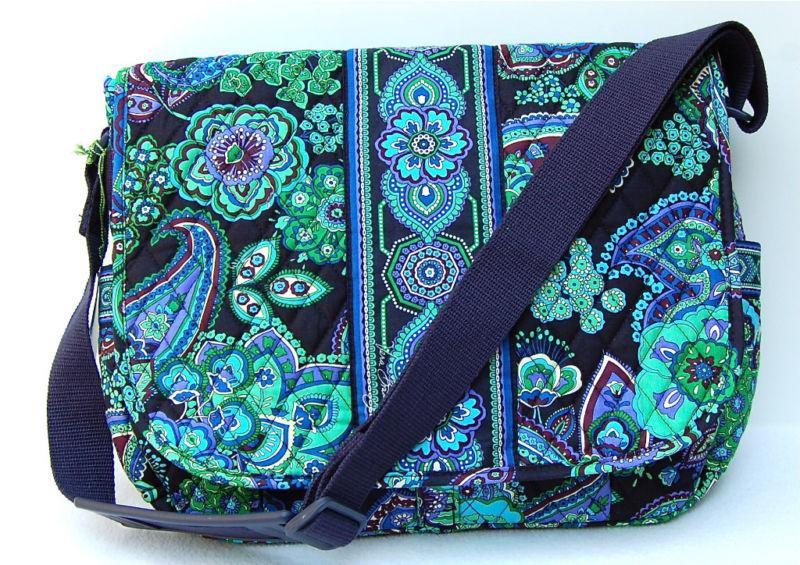 Vera Bradley Blue Rhapsody Messenger Purse Bag
