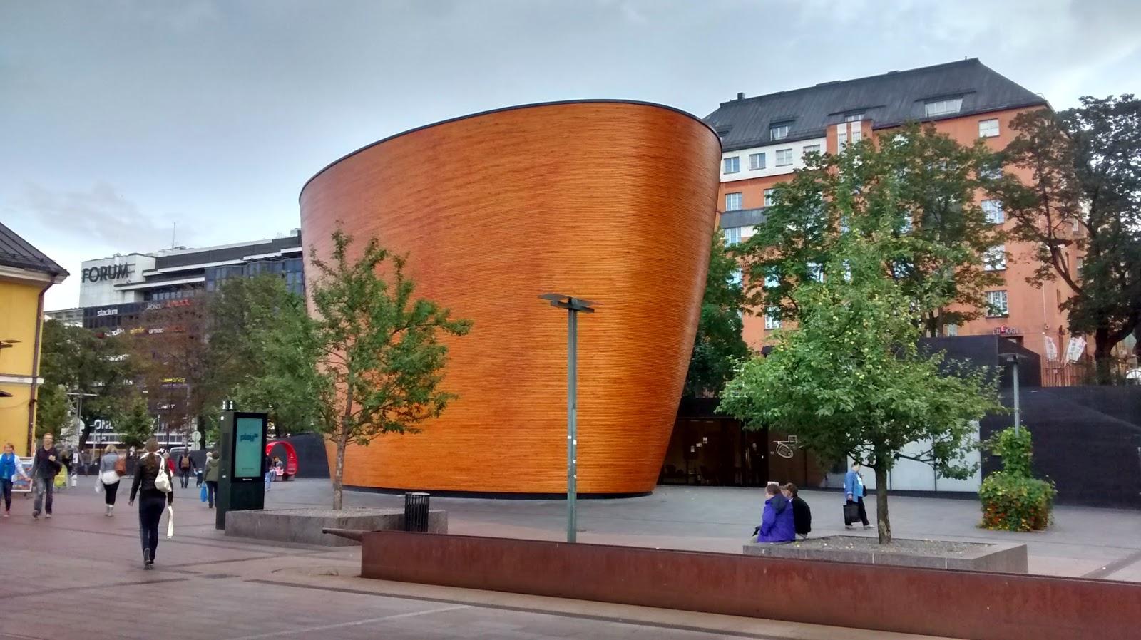 Igreja na Finlândia